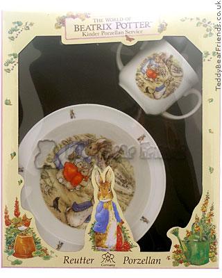 Reutter Porcelain Peter Rabbit Baby Set