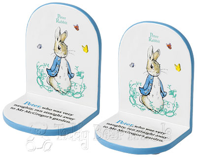 Border Fine Arts Peter Rabbit Bookends