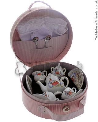 Reutter Porcelain Peter Rabbit Hatbox Teaset