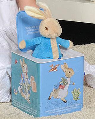 Rainbow Designs Peter Rabbit Jack In A Box