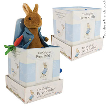 Rainbow Designs Peter Rabbit Jack In The Box