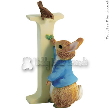 Border Fine Arts Peter Rabbit Letter I