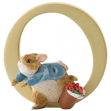 Border Fine Arts Peter Rabbit Letter O