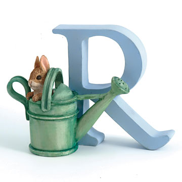 Border Fine Arts Peter Rabbit Letter R