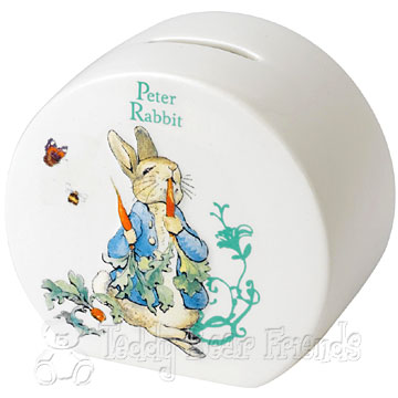 Border Fine Arts Peter Rabbit Money Bank