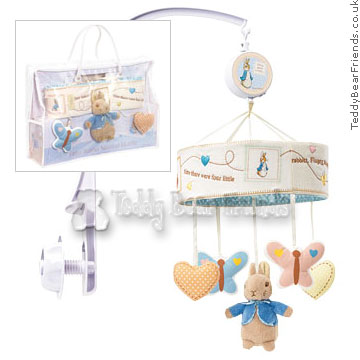 Rainbow Designs Peter Rabbit Musical Mobile