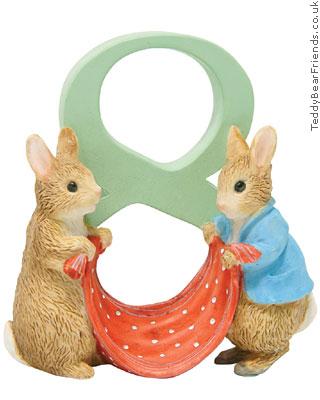 Border Fine Arts Peter Rabbit Number Figurine 8