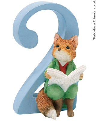Border Fine Arts Peter Rabbit Numbers 2