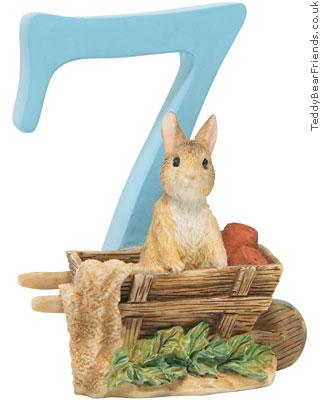 Border Fine Arts Peter Rabbit Numbers 7