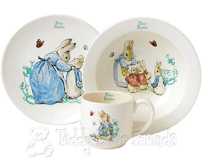 Border Fine Arts Peter Rabbit Nursery Set