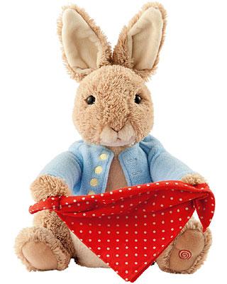 Baby Gund Peter Rabbit  Peek A Boo