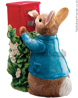 Border Fine Arts Peter Rabbit Posting Letter Moneybox