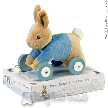 Rainbow Designs Peter Rabbit Pull Toy
