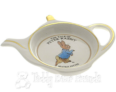 Churchill Peter Rabbit Teapot Shape Teabag Tidy