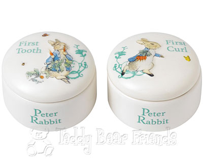 Border Fine Arts Peter Rabbit Tooth And Curl Box