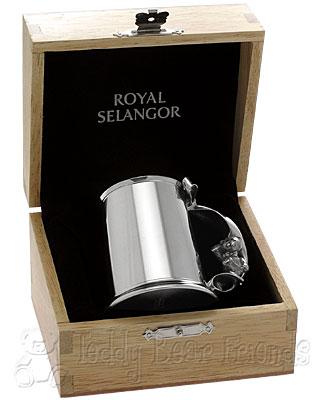 Royal Selangor Pewter Christening Cup in Gift Box