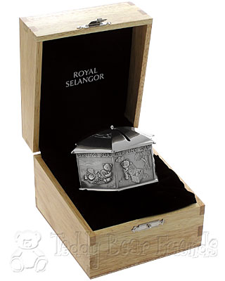 Royal Selangor Pewter Coin Box in Gift Box