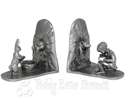 Pewter Winnie The Pooh Bookends