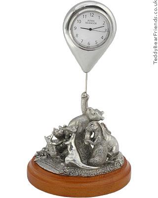Royal Selangor Pewter Winnie The Pooh Clock