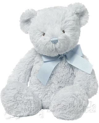 Baby Gund Peyton Blue Baby Teddy Bear