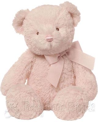 Baby Gund Pink Baby Teddy Bear Peyton