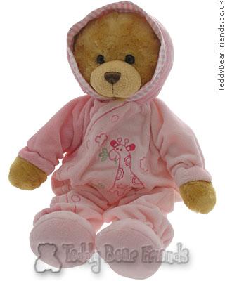 Teddy Hermann Babygrow Teddy Bear For Girl