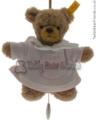 Steiff Baby Pink Bear Musical