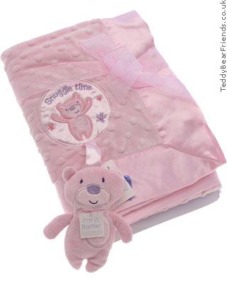 Baby Gund Pink Comfort Blanket