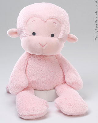 Baby Gund Pink Meme Monkey