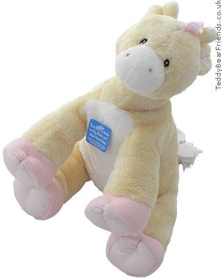 Baby Gund Pink Musical Giraffe