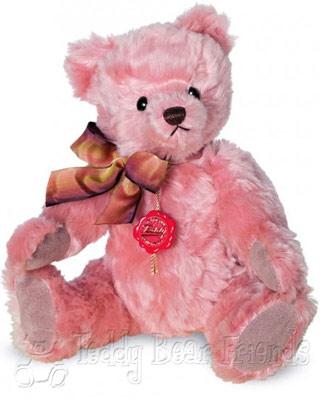 Teddy Hermann Pink Nostalgic Teddy Bear