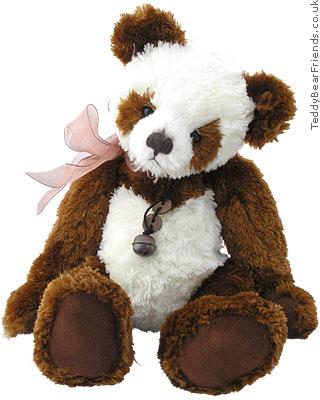 Charlie Bears Plush Panda Scarlet