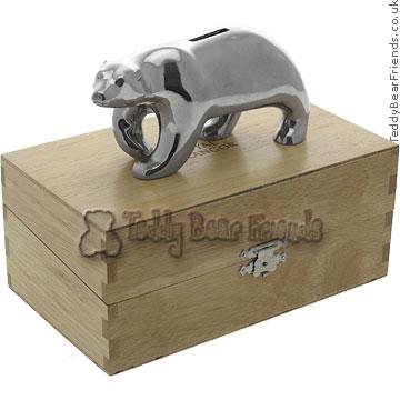 Royal Selangor Polar Bear Coin Box