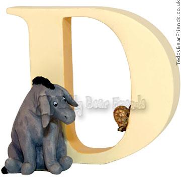Border Fine Arts Pooh Alphabet D