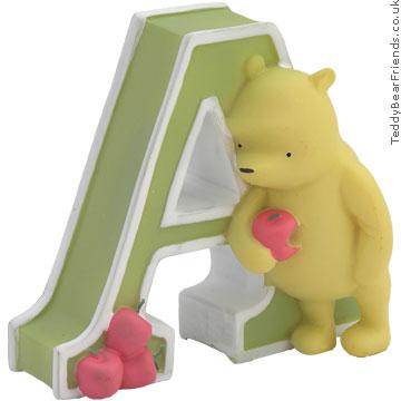 Pepperpot Winnie the Pooh Alphabet Letter A