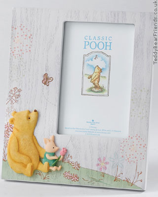 Border Fine Arts Pooh and Piglet Photo Frame