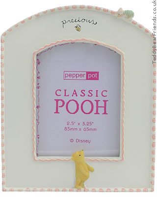 Pepperpot Pooh Baby Girl Picture Frame