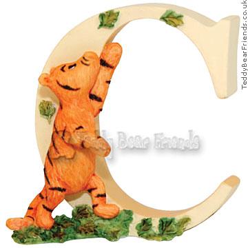 Border Fine Arts Pooh Bear Alphabet C