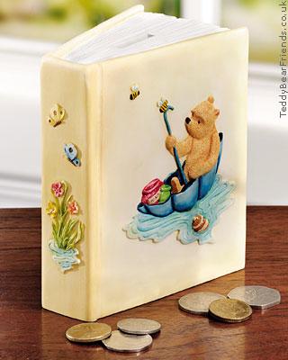 Border Fine Arts Pooh Bear Money Bank