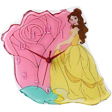 Disney Enchanting Collection Princess Belle Clock