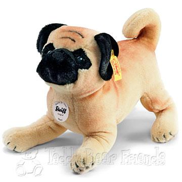 Steiff Pug Dog