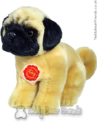 Teddy Hermann Pug Toy