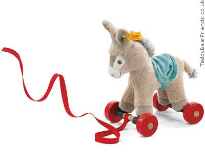 Steiff Pull Along Donkey