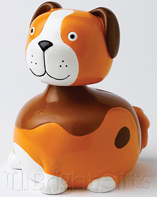 Nodibank Puppy Dog Money Bank