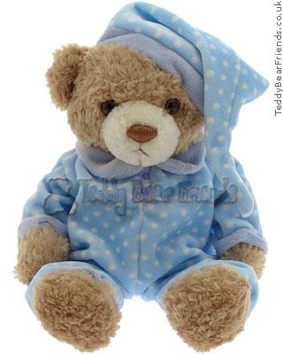 Teddy Hermann Pyjama Bear Blue