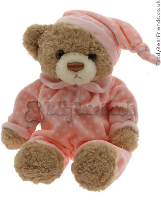 Teddy Hermann Pyjama Bear Pink