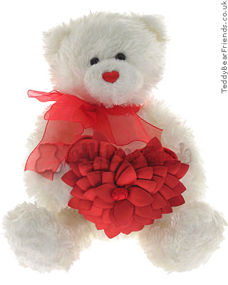 Gund Valentine Rose Petals Bear