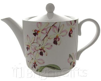 Roy Kirkham Royal Botanic Garden Orchid Teapot