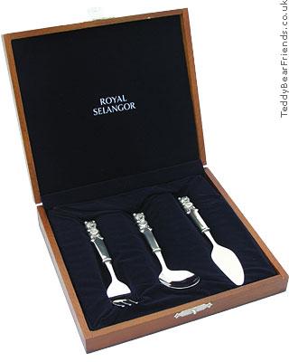 Royal Selangor Pewter Christening Gift Set