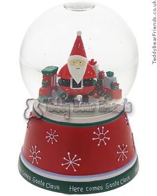 Gund Santa Claus Snow Globe